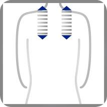 Funktion Schulterbereich einstellen