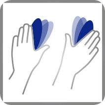 Massagetechnik Flattern