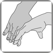 Funktion Massagehände-Gefühl